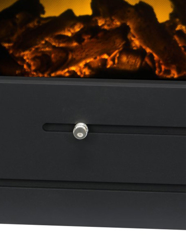 The Solden Electric Inset Stove Slider Detail
