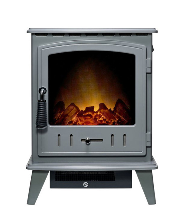 Grey Alpine Electric Stove