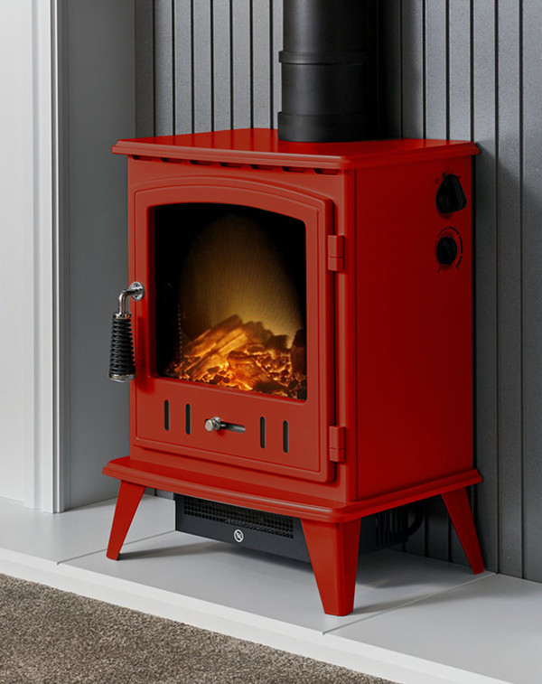 Red Alpine Electric Stove
