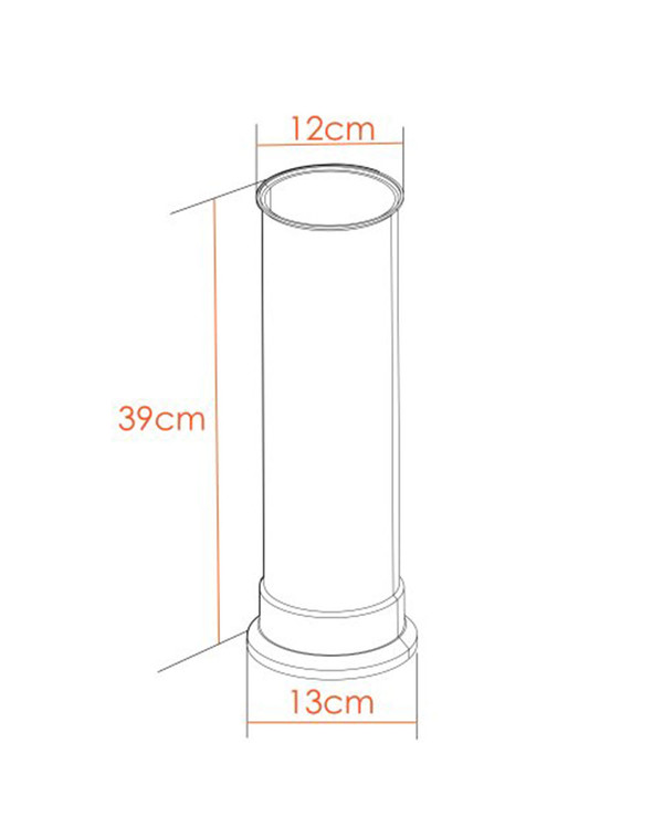 Straight Stove Pipe Dimensions