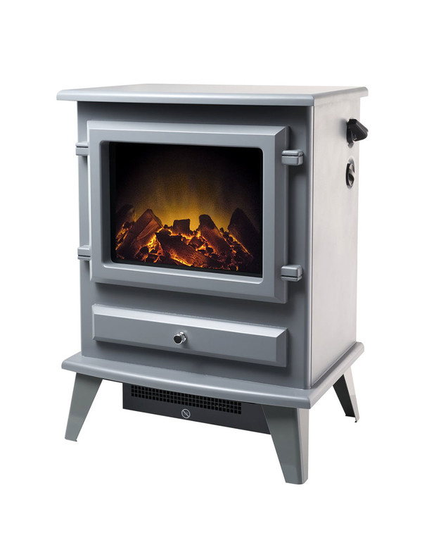 Alaska Grey Electric Stove