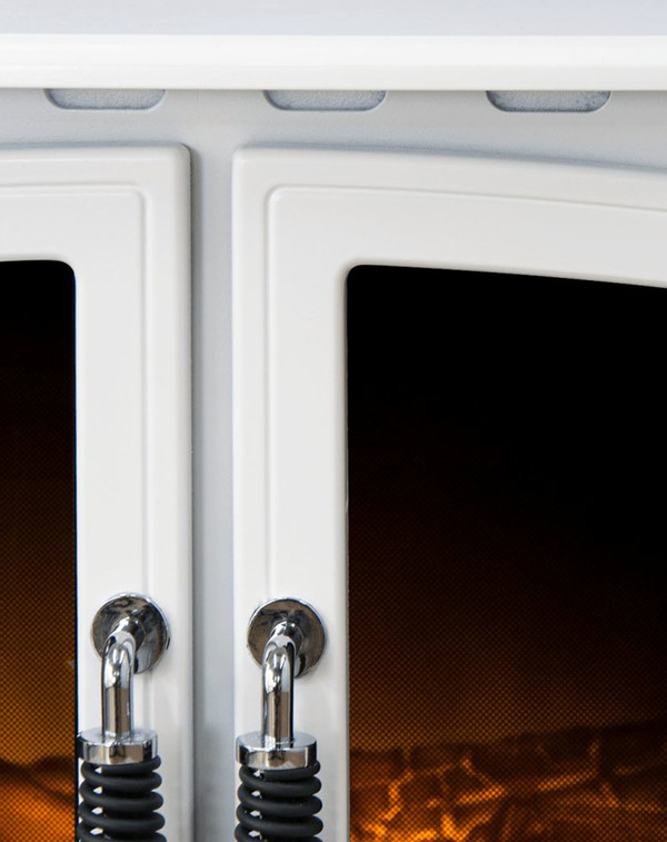 White Arosa Electric Stove