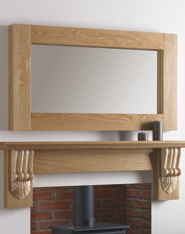 Canberra Mirror Shown in Celtic Oak