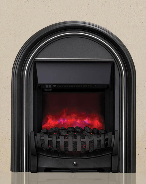 Be Modern Abbey Electric Fire on Marfil Stone