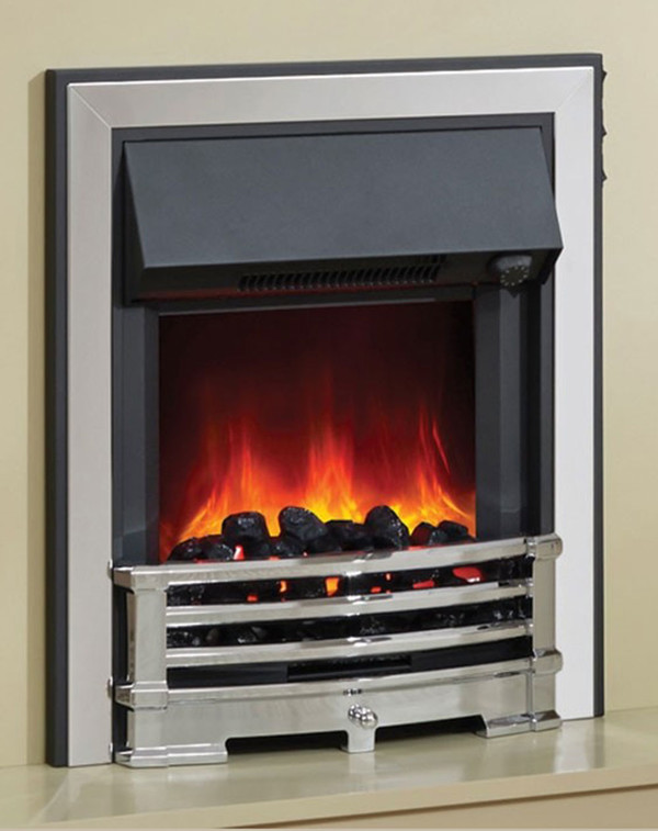 Close up of the BeModern Electric Fire