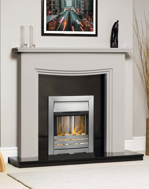Connecticut Fire Surround Shown Here in Mist