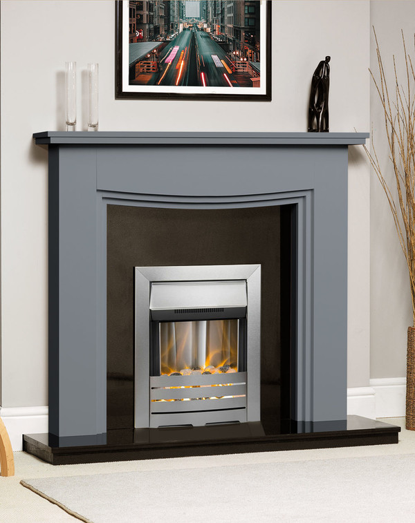 Connecticut Fire Surround Shown Here in Storm