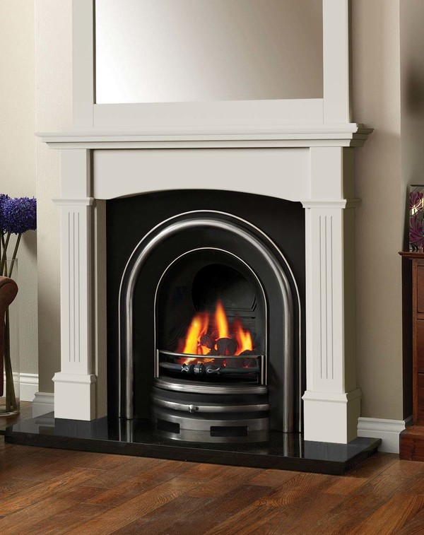 Cherwell Fireplace surround in Smooth Mist