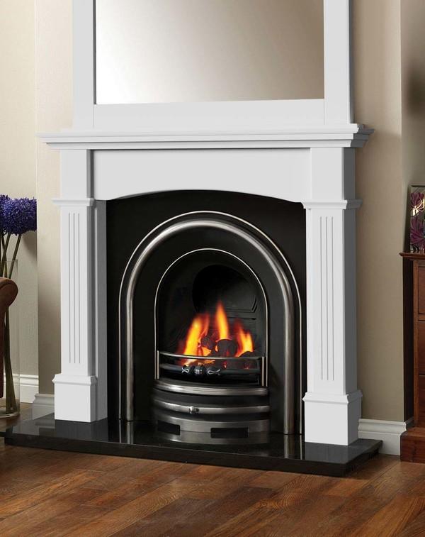 Cherwell Fireplace Surround in Brilliant White