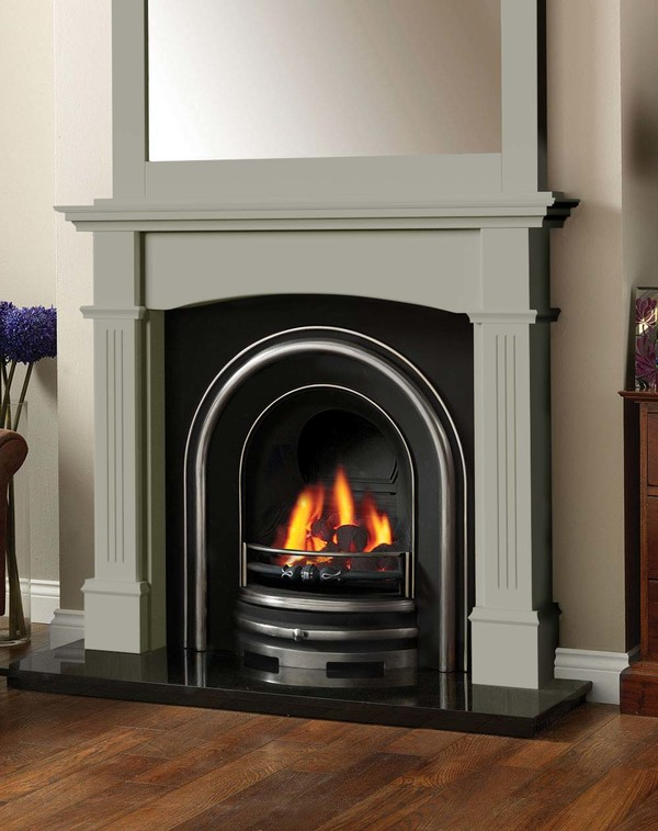 Cherwell Fireplace Surround in Smooth Olive