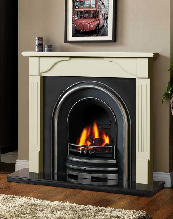 Avon Fireplace Surround in Olde England White