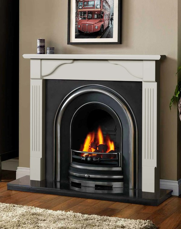 Avon Fireplace Surround in Smooth Mist