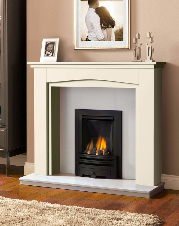 Windermere Fire Surround in Olde England White