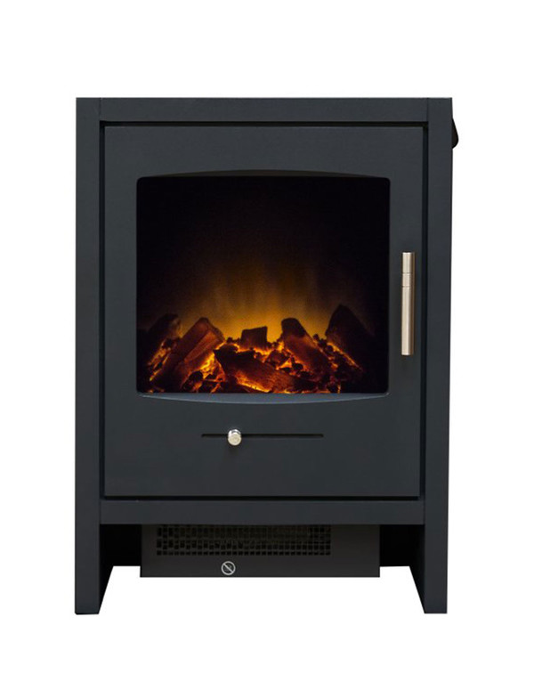 The Charcoal Cortina Electric Stove