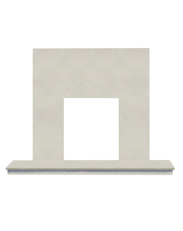 Nacarado Stone back panel and hearth