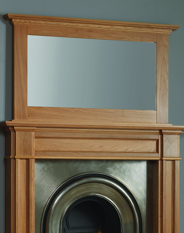 Cumnock Mirror Shown Here in Celtic Oak