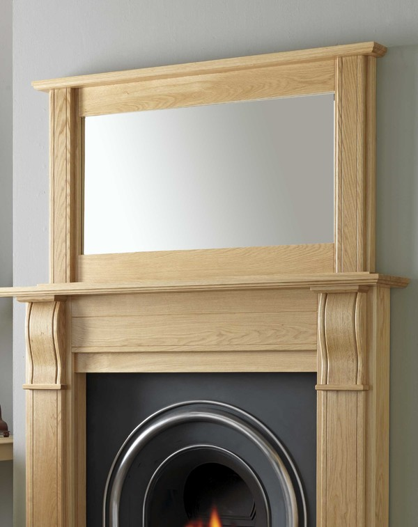 Fairfield fireplace mirror l