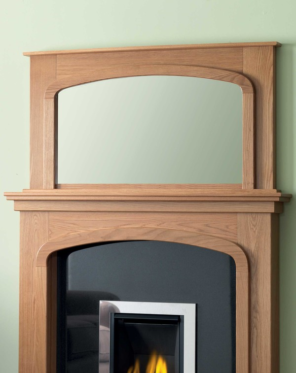 Queensland Mirror Shown Here in Oiled Oak