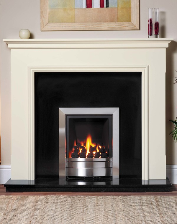 Salisbury Fire Surround in Old England White
