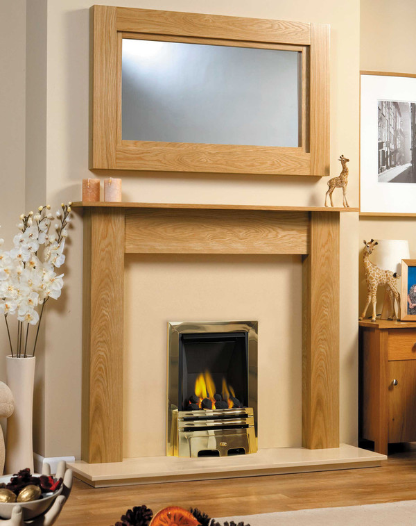 Atlanta fire surround goldenoak