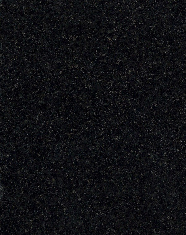Close up of Black Granite.