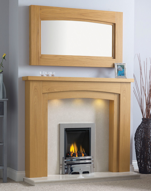 Newark-Arch Surround shown here in Celtic Oak