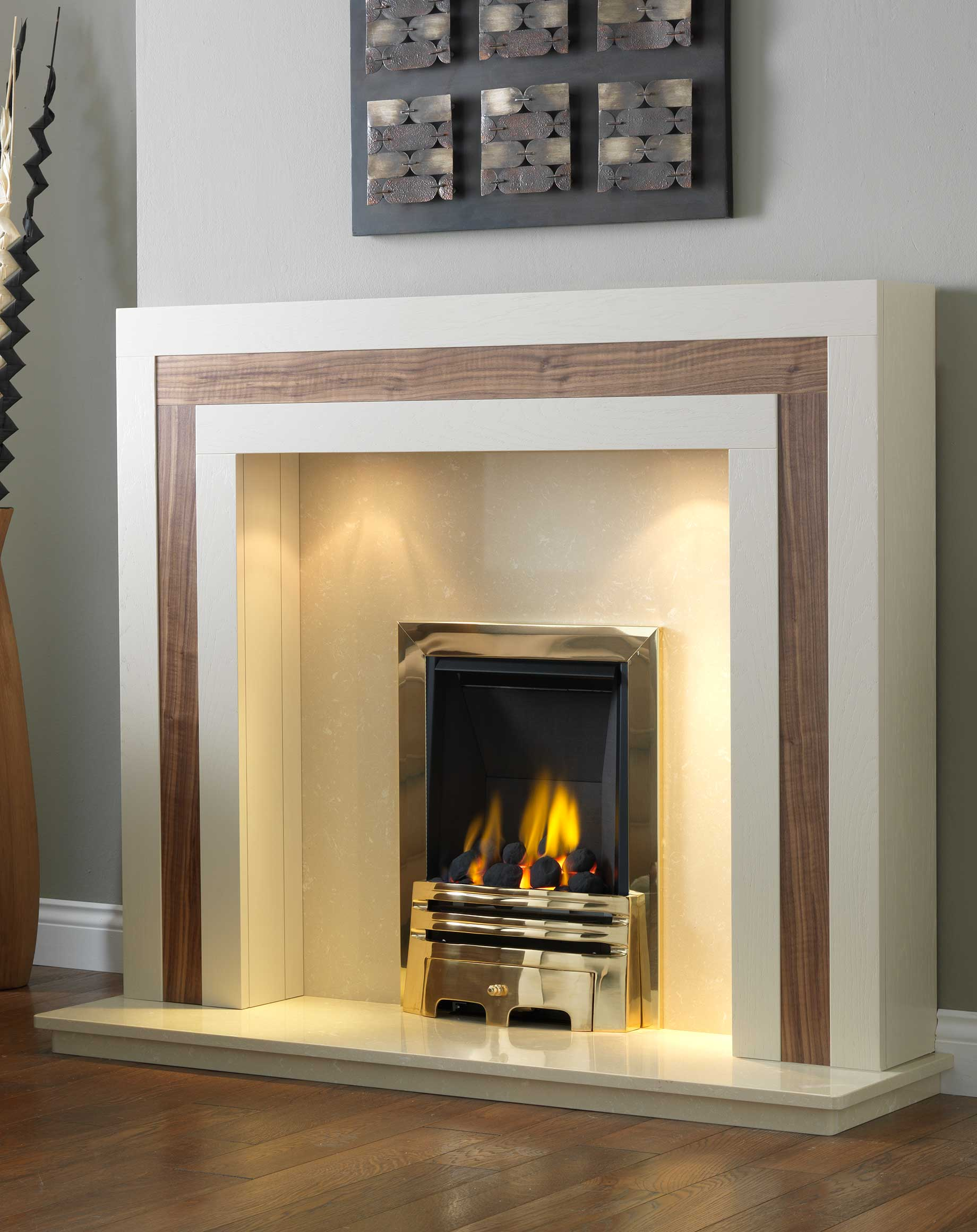 solid oak calgary wood fire surround fires and surrounds