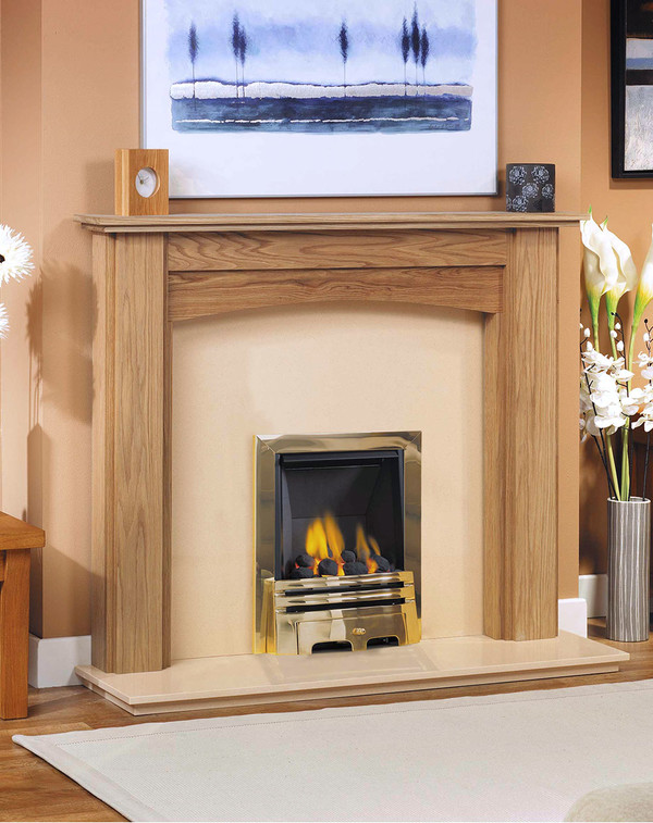 Vancouver solid oak surround l2
