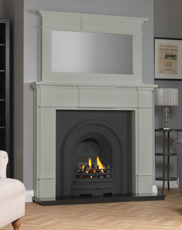 Chesham Fireplace Surround shown here in Olive