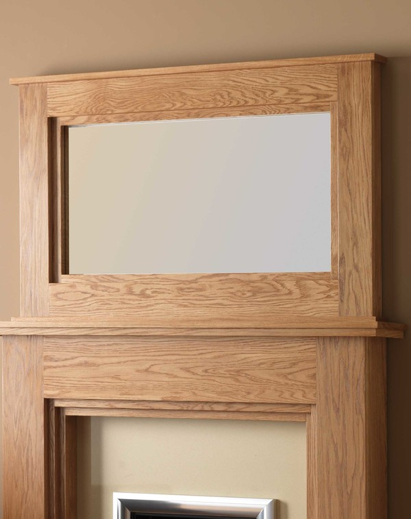 Dalby Mirror Shown Here in Celtic Oak