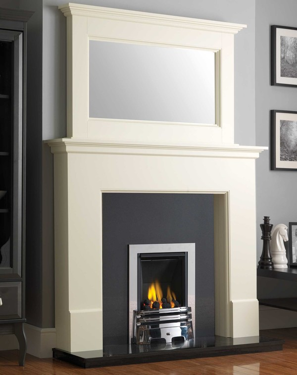Wilmslow Fire surround Package Shown Here in Olde England White
