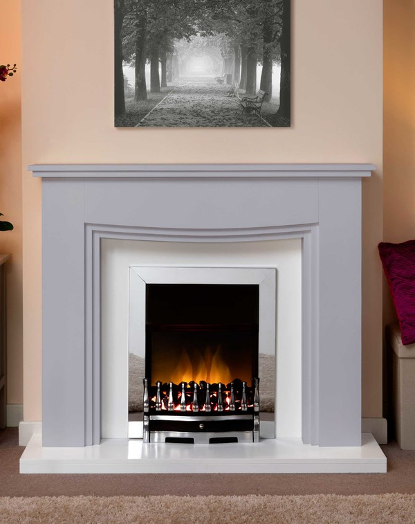 Connecticut Fire Surround In Smooth Cloud