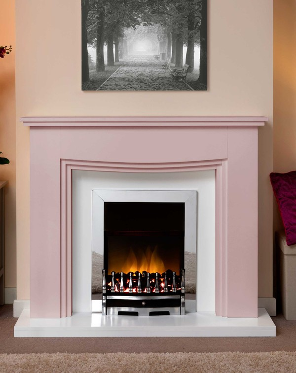 Connecticut Fire Surround In Bespoke Colour Daybreak