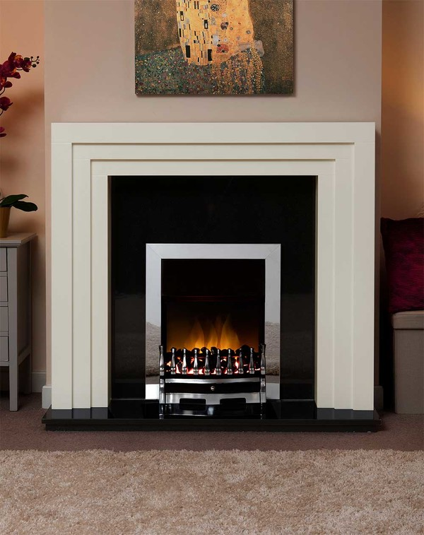 Albany Small Fire Surround in Olde England White