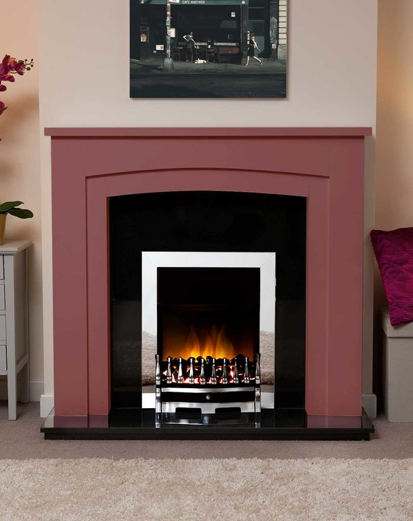 Newark Arch Electric Suite in the Bespoke Colour Tawny