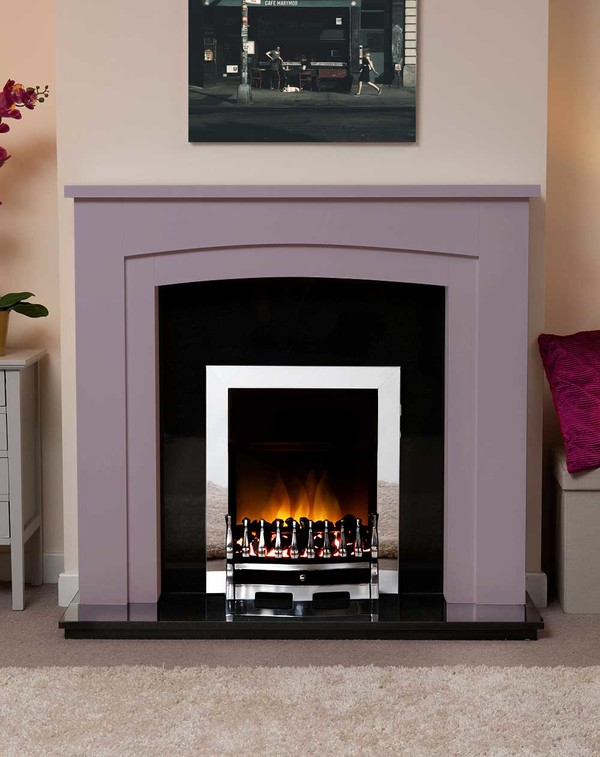 Newark Arch Electric Suite in the Bespoke Colour Purple