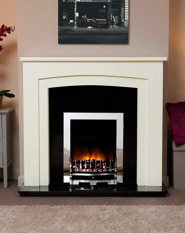 Newark Arch Electric Suite in Olde England White