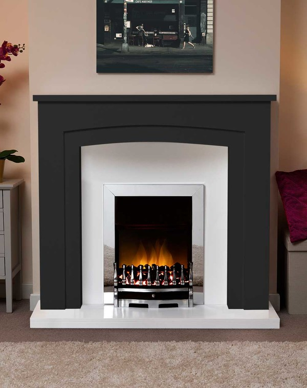 Newark Arch Electric Suite in Matt Black
