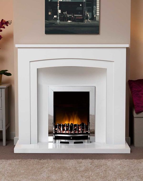 Newark Arch Electric Suite in Brilliant White