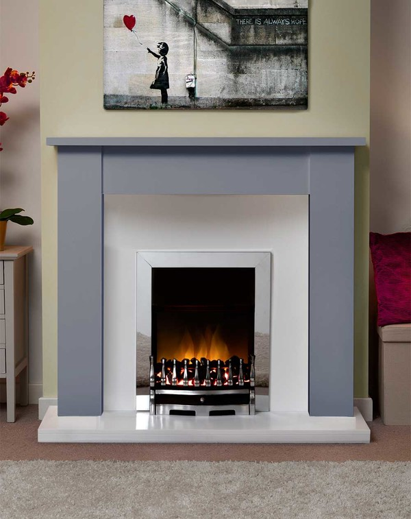 Jersey Fire Surround in Smooth Cloud