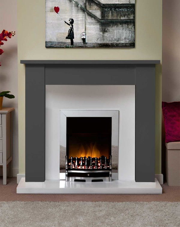 Jersey Fire Surround in Smooth Slate