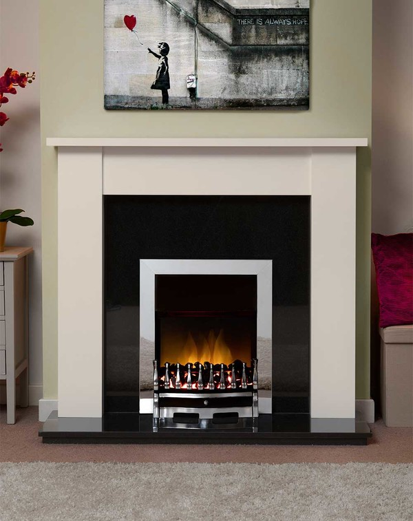 Jersey Fire Surround in Olde England White