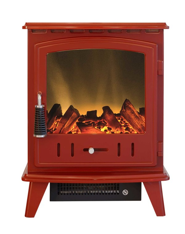 Red Electric Stove - Aviemore
