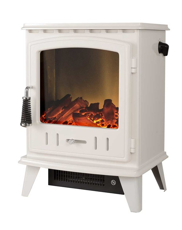Cream Aviemore Electric Stove