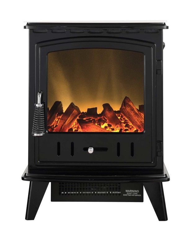 Black Electric Stove - Aviemore