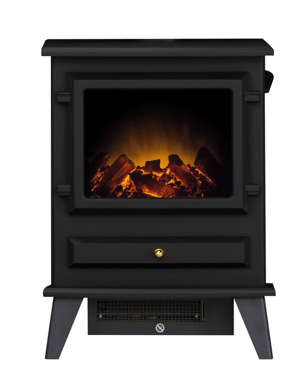 Alaska Black Electric Stove