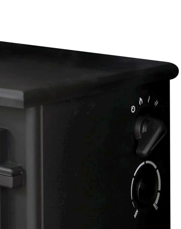 Black Electric Stove - Hudson