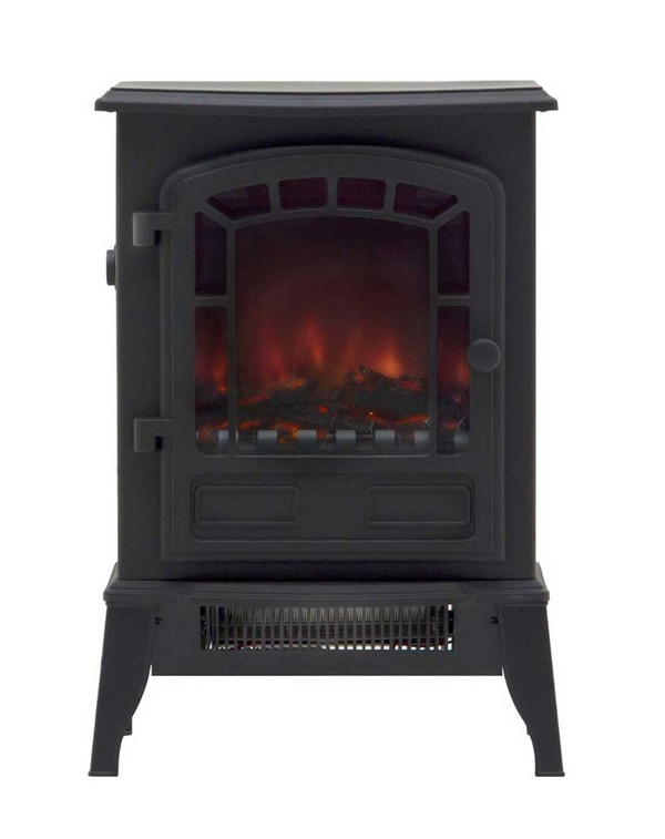 Black Electric Stove - Ripon