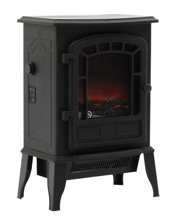 Black Ripon Electric Stove