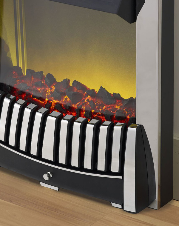 Close up of the Elise Electric Fire